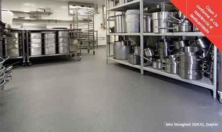suelos para cocinas hoteles